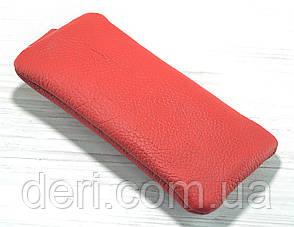 Червона шкіряна ключниця, фото 2