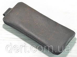Шкіряна ключниця темно-коричнева, фото 2