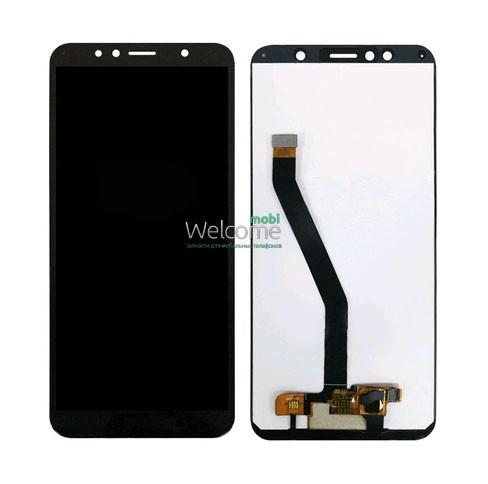 Модуль Huawei Y6 2018 ATU-L21/Y6 Prime 2018/Honor 7A Pro/Honor 7C black дисплей экран, сенсор тач скрин Хуавей