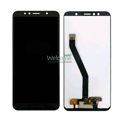 Модуль Huawei Y6 2018 ATU-L21/Y6 Prime 2018/Honor 7A Pro/Honor 7C black дисплей экран, сенсор тач скрин Хуавей, фото 2
