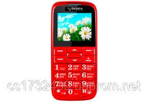 Мобильный телефон Sigma Comfort 50 Slim red
