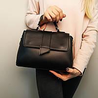 """Женская повседневная сумка-саквояж """"Каталина Black"""""""", фото 1"""