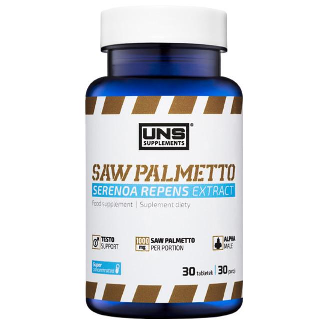 Препарат для мужского здоровья UNS Saw Palmetto (30 таб)