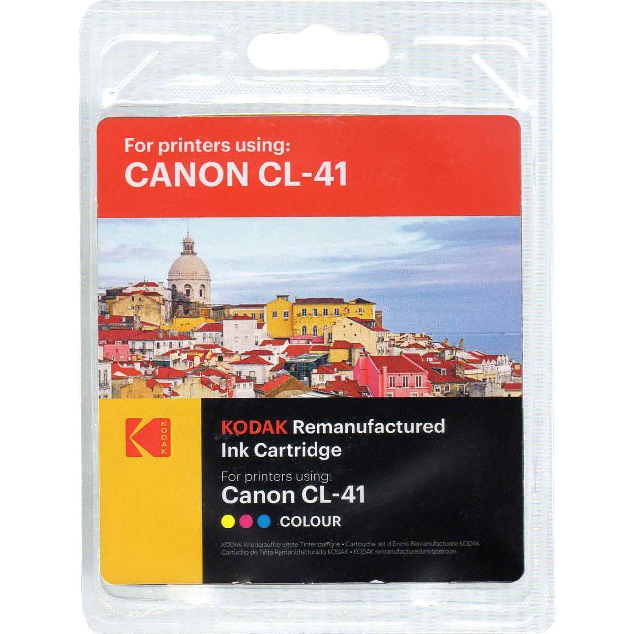 Картридж Canon CL-41, Color (Колір), iP1200/1300/1600/1700/1800/2200/2500/2600,