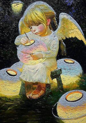 КДИ-0073 Набор алмазной вышивки (мозаики) Фонарики счастья. Художник Nizovtsev Victor, фото 2