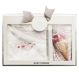 Подарочный набор для новорожденного из 3 единиц