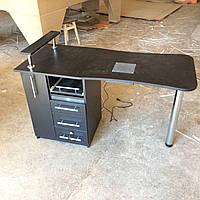 Стол для мастера маникюра с бактерицидной (УФ) лампой
