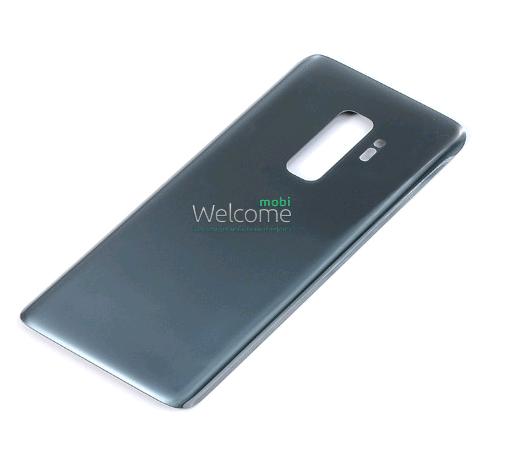 Задняя крышка Samsung G965 Galaxy S9 Plus titanium grey, сменная панель самсунг