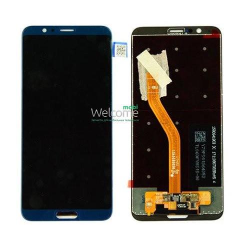 Модуль Huawei Honor View 10 blue дисплей экран, сенсор тач скрин Хонор