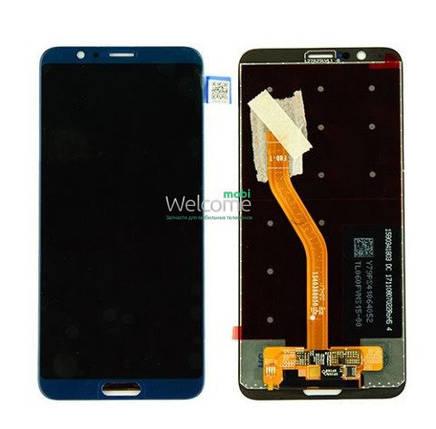 Модуль Huawei Honor View 10 blue дисплей экран, сенсор тач скрин Хонор, фото 2