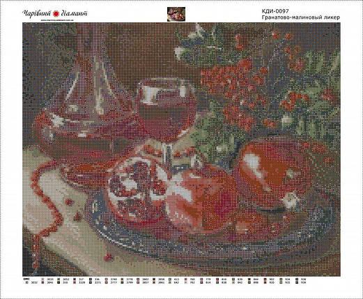 КДИ-0097 Набор алмазной вышивки Гранатово-малиновый ликер. Художник Vorobyova Olga, фото 2