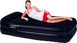 Надувной матрас кровать со встроенным электронасосом Bestway 67401, фото 3