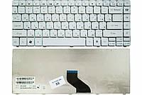 Клавиатура для ноутбука Gateway NV49C Packard Bell EasyNote NM85 NM86 NM87 белая (9Z.N1P82.40R)
