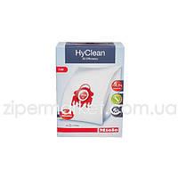 Набор мешков HyClean 3D FJM + 2 фильтра для пылесоса Miele 41996571D (9153490)