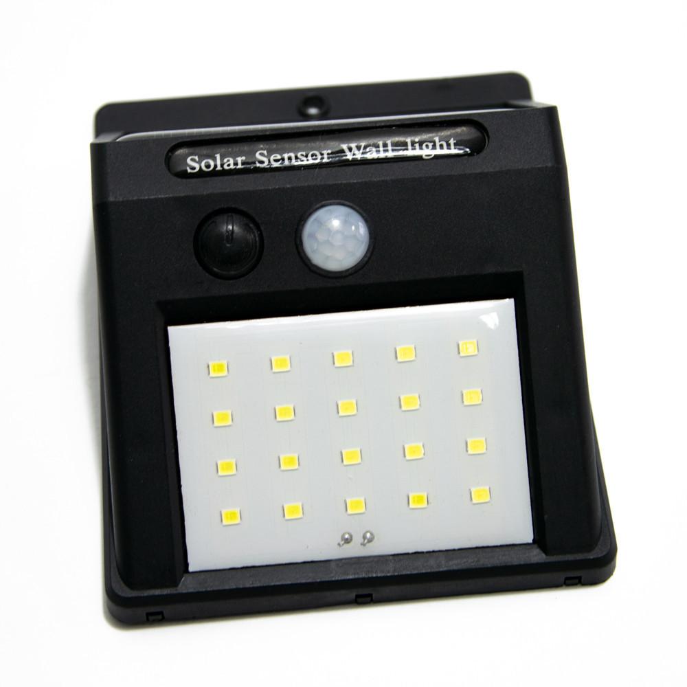 Уличный светильник с датчиком движения, Solar Motion Sensor Light (20 LED), фонарь на солнечной батарее
