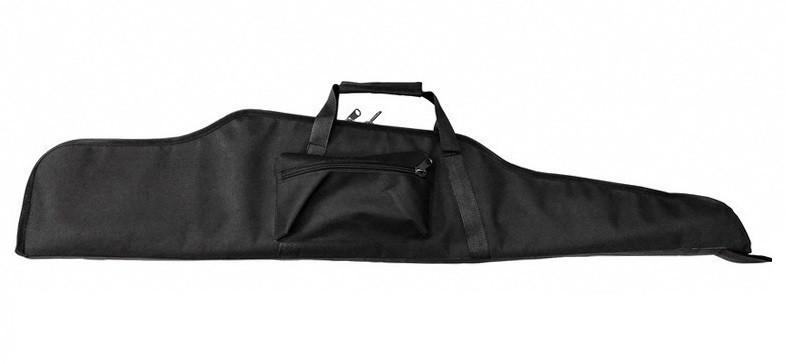 Чехол для винтовки с оптикой чёрный 125 см