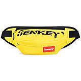 Бананка Sankey сумка на пояс через плече світиться хакі Код 13-1119, фото 2