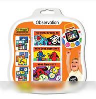 K's Kids Комплект развивающих карточек K-Magic Внимание, 3 шт.
