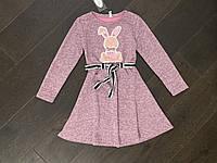 Теплое ангоровое платье для девочек. ( Полномерные). 134- 152 рост., фото 1