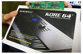 Плата расширения Kurzweil KORE64