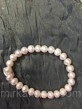 Браслет натуральний річкові перли.