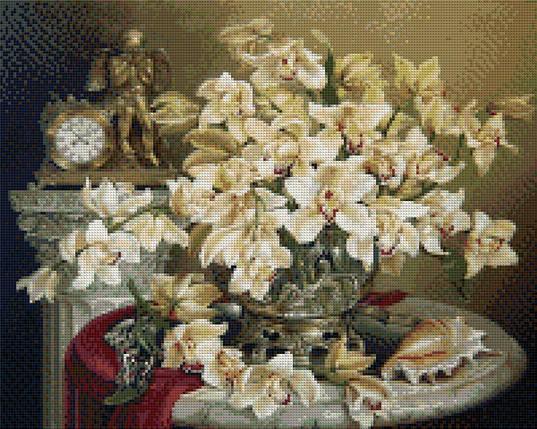 КДИ-0190 Набор алмазной вышивки Великолепие орхидей. Художник Vlasov Dmitry, фото 2