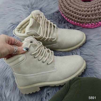 Зимние ботинки с мехом, фото 2