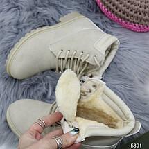 Зимние ботинки с мехом, фото 3
