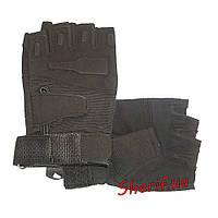 Перчатки тактические короткопалые Blackhawk  XL, Черный
