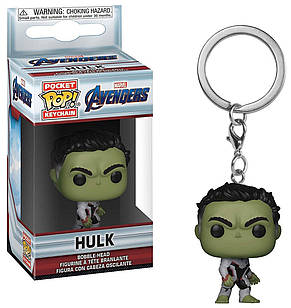 Фигурка брелок Funko Pop Фанко ПопAvengers Endgame Hulk Мстители Финал Халк4см Trinket A H