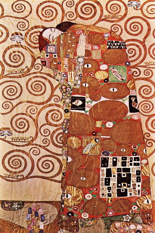 КДИ-0223 Набор алмазной вышивки Объятия. Художник Gustav Klimt