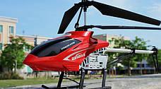 Вертолет на радиоуправлении на металическом каркасе со светодиодами и гироскопом 80см, фото 2