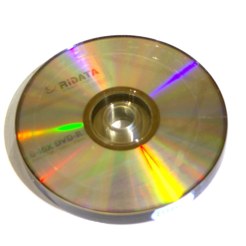 Диски DVD-R 10 шт. Ridata, 4.7Gb, 16x, Bulk Box