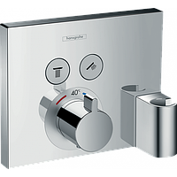 Верхняя часть смесителя с термостатом Hansgrohe ShowerSelect Therm.2 O.Fixfit+Porter