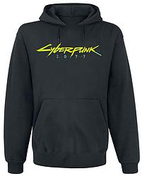 Толстовка без молнии Cyberpunk 2077 Yellow Logo