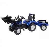 Трактор педальный с ковшом New Holland Falk 3090M, фото 1