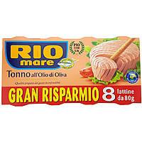 Тунец Rio Mare Olio di Oliva 8 шт 640 г