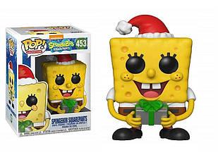 Фигурка Funko Pop Фанко Поп Спанч Боб Рождество SpongeBob SquarePants SpongeBob Xmas 10 см SP 453