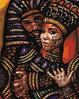 Художественный творческий набор, картина по номерам Африканские мотивы, 40x50 см, «Art Story» (AS0654), фото 1