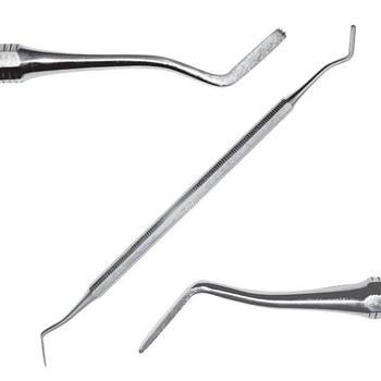 Инструмент для поддесневого применения, штыкообразный/ лопаткообразный с зубчиками, SD-1105-00О