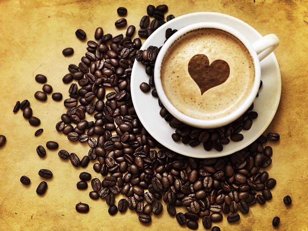 КДИ-0346 Набор алмазной вышивки Кофе для любимых