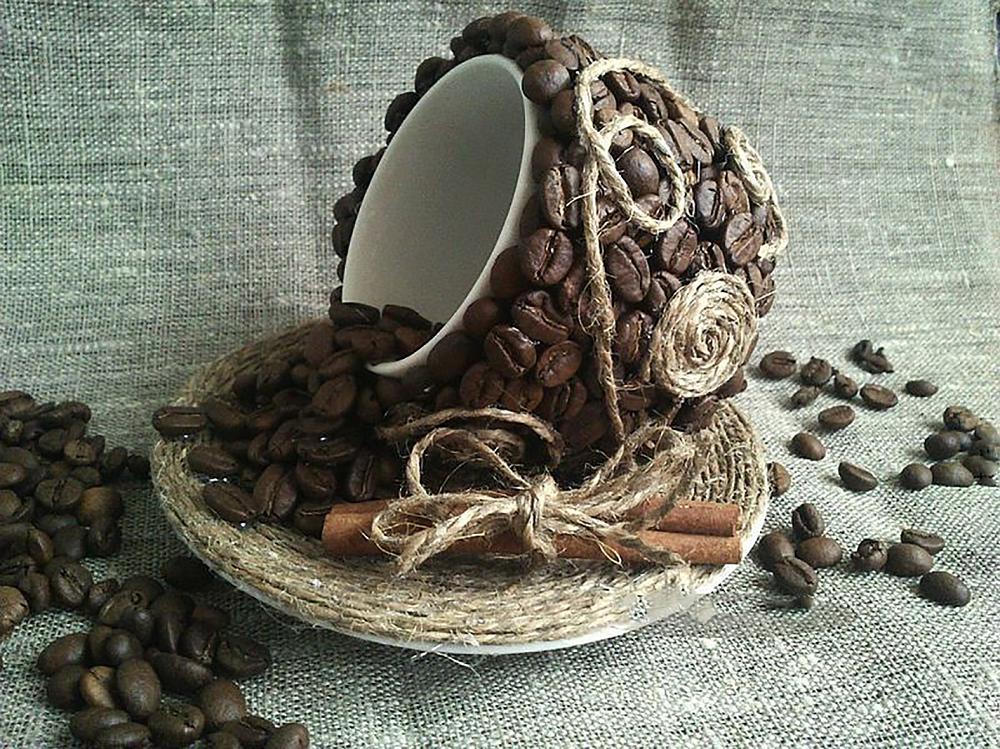 КДИ-0347 Набор алмазной вышивки Кофейная фантазия