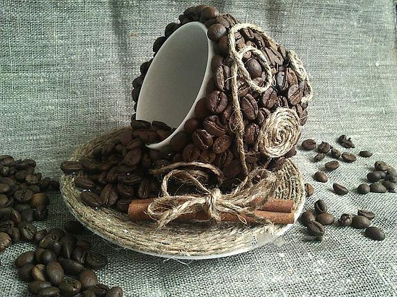 КДИ-0347 Набор алмазной вышивки Кофейная фантазия, фото 2