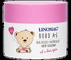 Крем защитный для ухода за кожей детей и младенцев LINOMAG® Bobo A+E для сухой, чувствительной и аллергичной кожи с рождения 50 мл, фото 2
