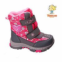 Детские зимние термо сапоги,сноубутсы  Tom.m  размеры 30,31