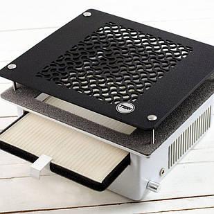 Teri Turbo встраиваемая маникюрная вытяжка с HEPA фильтром (сетка черный пластик)