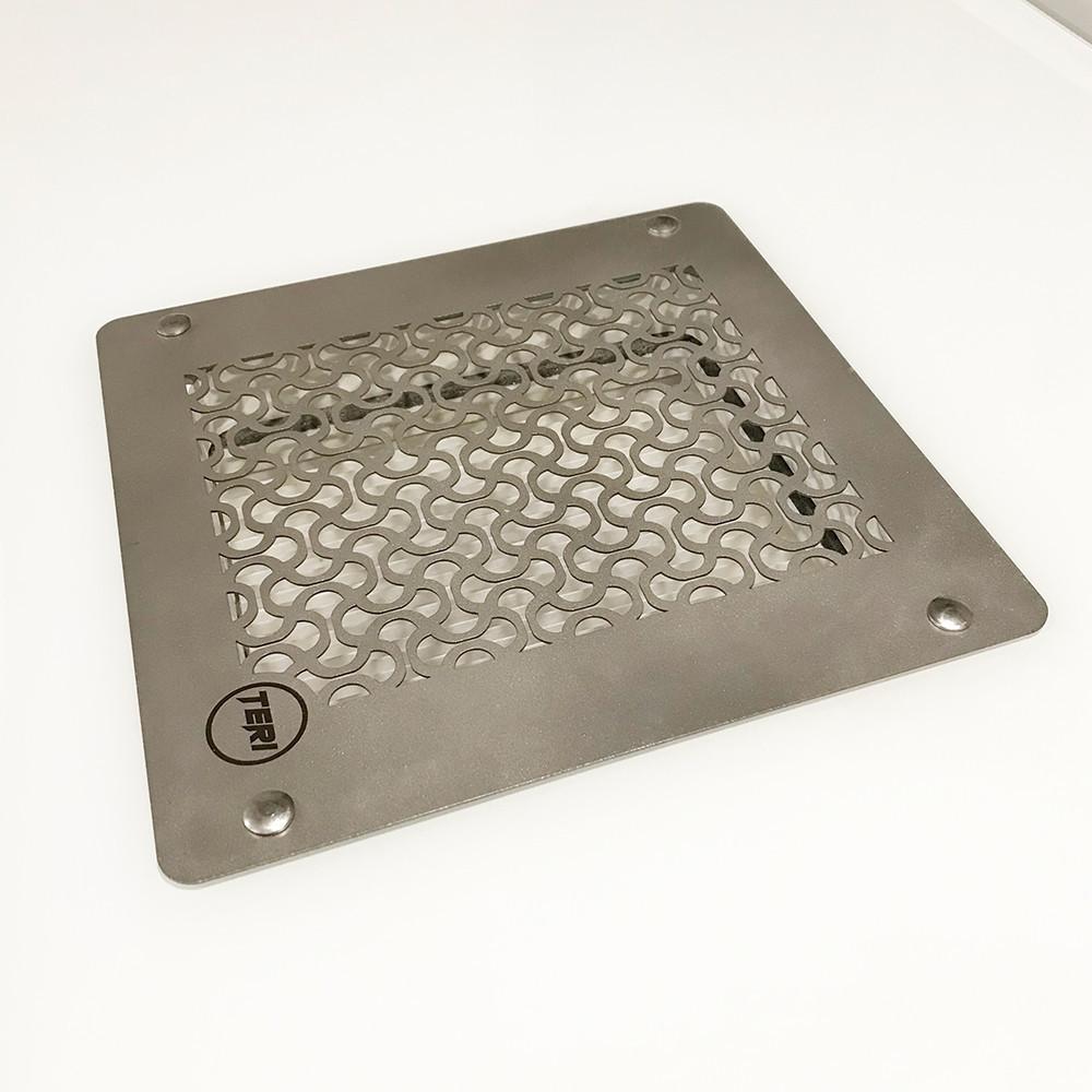 Teri Turbo встраиваемая в стол маникюрная вытяжка с HEPA фильтром
