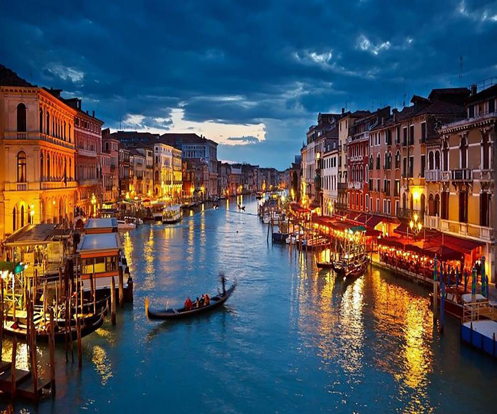 КДИ-0368 Набор алмазной вышивки Вечерняя Венеция