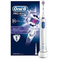 Электрическая аккумуляторная зубная щетка Oral-B PRO 600 3D White