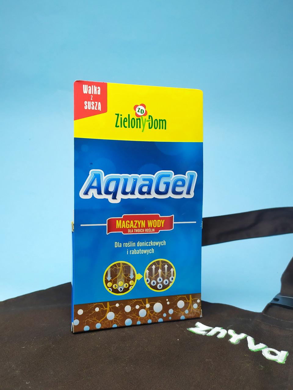 Гидрогель для хранения влажности AquaGel Zielony Dom 60гр